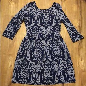 Tobi blue print dress